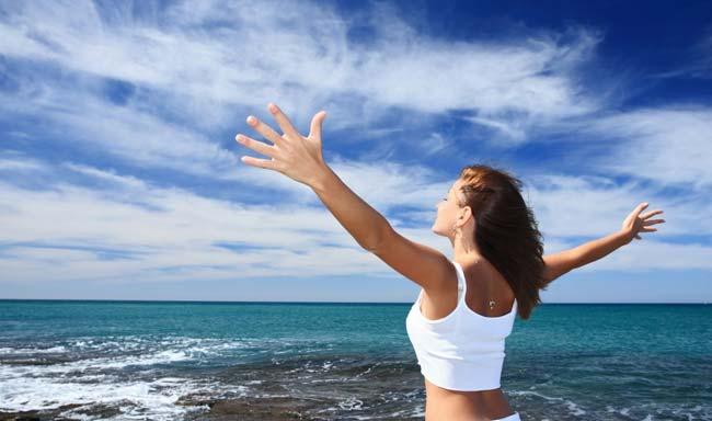 Disfruta de ser libre